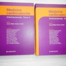 Libros de segunda mano: VV.AA MEDICINA CARDIOVASCULAR.ARTERIOESCLEROSIS (2 TOMOS) Y98009 . Lote 191052747