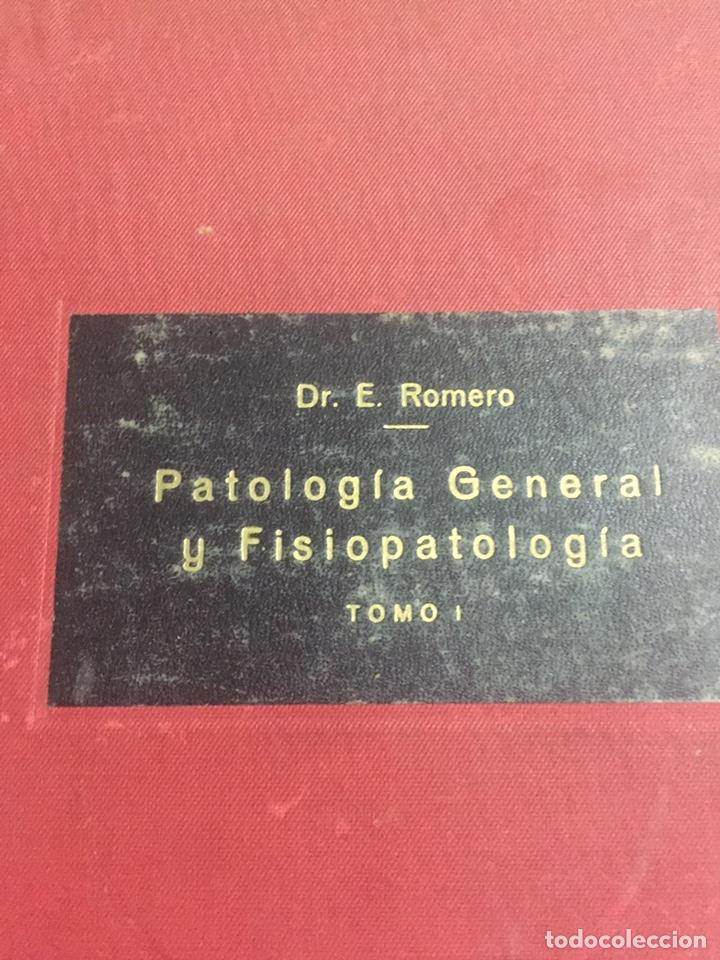 Libros de segunda mano: Patología general y fisio patología Dr.ERomero - Foto 2 - 191322822