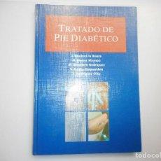 Libros de segunda mano: TRATADO DEL PIE DIABÉTICO Y98078. Lote 191574326