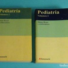 Libros de segunda mano: PEDIATRÍA. COLUMEN 1 Y 2. ETTORE ROSSI Y COLABORADORES. Lote 191682343