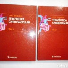 Libros de segunda mano: ANDRÉS ÍÑIGUEZ ROMO TERAPÉUTICA CARDIOVASCULAR (2 TOMOS) Y98090. Lote 191688896