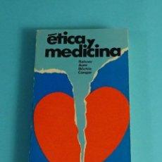 Libros de segunda mano: ETICA Y MEDICINA. AUER / RAHNER / CONGAR / BÖCKLE. Lote 191692453