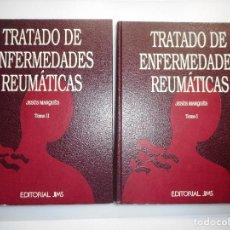 Libros de segunda mano: JESÚS MARQUÉS TRATADO DE ENFERMEDADES REUMÁTICAS(2 TOMOS) Y98129 . Lote 191789611