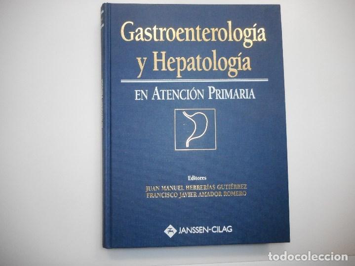 VV.AA GASTROENTEROLOGÍA Y HEPATOLOGÍA Y98176 (Libros de Segunda Mano - Ciencias, Manuales y Oficios - Medicina, Farmacia y Salud)
