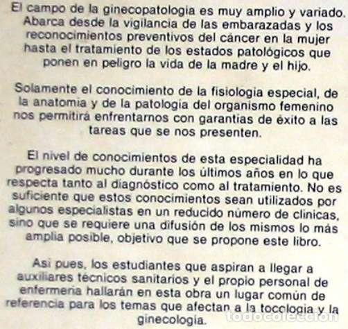 Libros de segunda mano: GINECOLOGÍA Y TOCOLOGÍA PARA ENFERMERAS - HERBERT K. BREHM - ED. SALVAT 1982 - VER INDICE - Foto 2 - 192452751