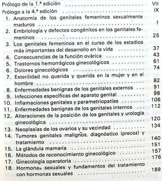 Libros de segunda mano: GINECOLOGÍA Y TOCOLOGÍA PARA ENFERMERAS - HERBERT K. BREHM - ED. SALVAT 1982 - VER INDICE - Foto 3 - 192452751