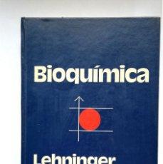 Libros de segunda mano: BIOQUÍMICA ALBERT L. LEHNINGER 1981 EDICIONES OMEGA BARCELONA JOHNS HOPKINS UNIVERSITY . Lote 193792721