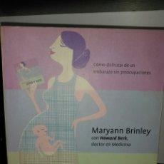 Libros de segunda mano: TODO SOBRE EL EMBARAZO. LIBRO. MARYANN BRINLEY.. Lote 193882600