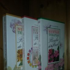 Libros de segunda mano: NUEVAS TERAPIAS FLORALES DE BACH, DIETMAR KRAMER, COLORES SONIDOS METALES, EDITORIAL SIRIO, FLORES. Lote 245359895