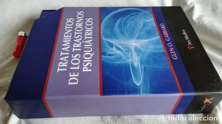 TRATAMIENTOS DE LOS TRASTORNOS PSIQUIÁTRICOS - GLEN O GABBARD - ARS MEDICA 2 TOMOS EN ESTUCHE (Libros de Segunda Mano - Ciencias, Manuales y Oficios - Medicina, Farmacia y Salud)