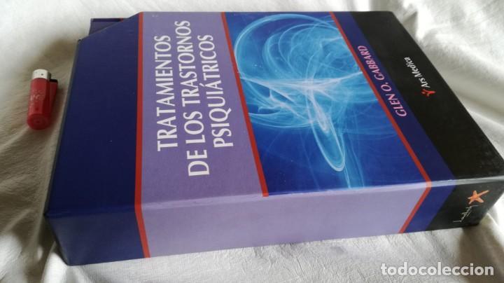 Libros de segunda mano: TRATAMIENTOS DE LOS TRASTORNOS PSIQUIÁTRICOS - GLEN O GABBARD - ARS MEDICA 2 TOMOS EN ESTUCHE - Foto 2 - 194204740
