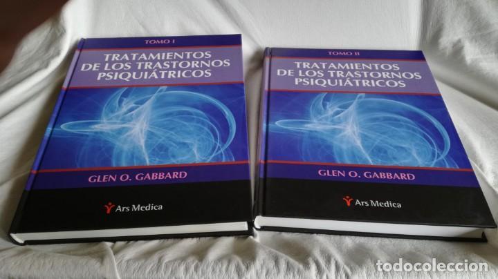 Libros de segunda mano: TRATAMIENTOS DE LOS TRASTORNOS PSIQUIÁTRICOS - GLEN O GABBARD - ARS MEDICA 2 TOMOS EN ESTUCHE - Foto 3 - 194204740