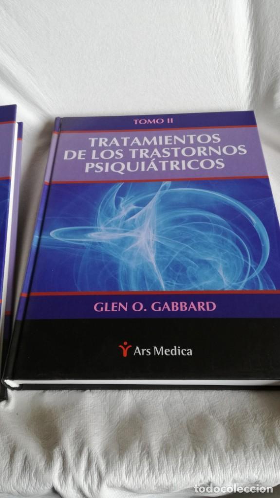 Libros de segunda mano: TRATAMIENTOS DE LOS TRASTORNOS PSIQUIÁTRICOS - GLEN O GABBARD - ARS MEDICA 2 TOMOS EN ESTUCHE - Foto 5 - 194204740