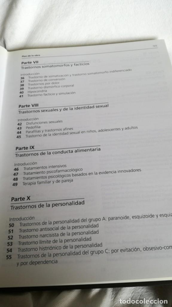Libros de segunda mano: TRATAMIENTOS DE LOS TRASTORNOS PSIQUIÁTRICOS - GLEN O GABBARD - ARS MEDICA 2 TOMOS EN ESTUCHE - Foto 10 - 194204740