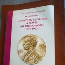 Libros de segunda mano: AVANCES EN LA CIENCIA A TRAVÉS DEL PREMIO NOBEL 1957-1997 POR ÁNGEL SANTOS RUIZ REAL ACADEMIA DE FAR. Lote 194220777