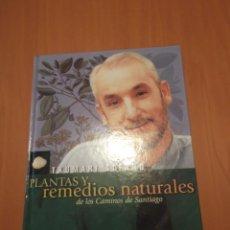 Libros de segunda mano: LIBRO PLANTAS Y REMEDIOS NATURALES DE LOS CAMINOS DE SANTIAGO.. Lote 194234048