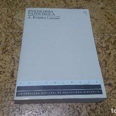 Libros de segunda mano: PSICOLOGÍA PATOLÓGICA, A. POLAINO LORENTE, UNED . Lote 194347087