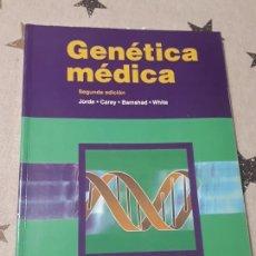Libros de segunda mano: LIBRO GENÉTICA MEDICA JORDE GAREY. Lote 194390957