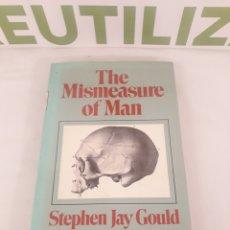 Libros de segunda mano: THE MISMEASURE OF MAN.STEPHEN JAY GOULD.. Lote 194392828