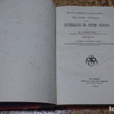 Libros de segunda mano: TRATADO CLÍNICO DE LAS ENFERMEDADES DEL SISTEMA NERVIOSO, ROSENTHAL. Lote 194536123