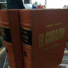 Libros de segunda mano: HURST Y LOGUE. EL CORAZO ARTEREAS Y VENAS. 2 TOMOS.. Lote 194777355
