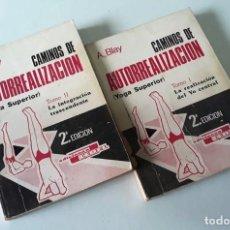 Libros de segunda mano: CAMINOS DE AUTORREALIZACIÓN ( YOGA SUPERIOR) TOMOS I Y II - A. BLAY . Lote 194779486