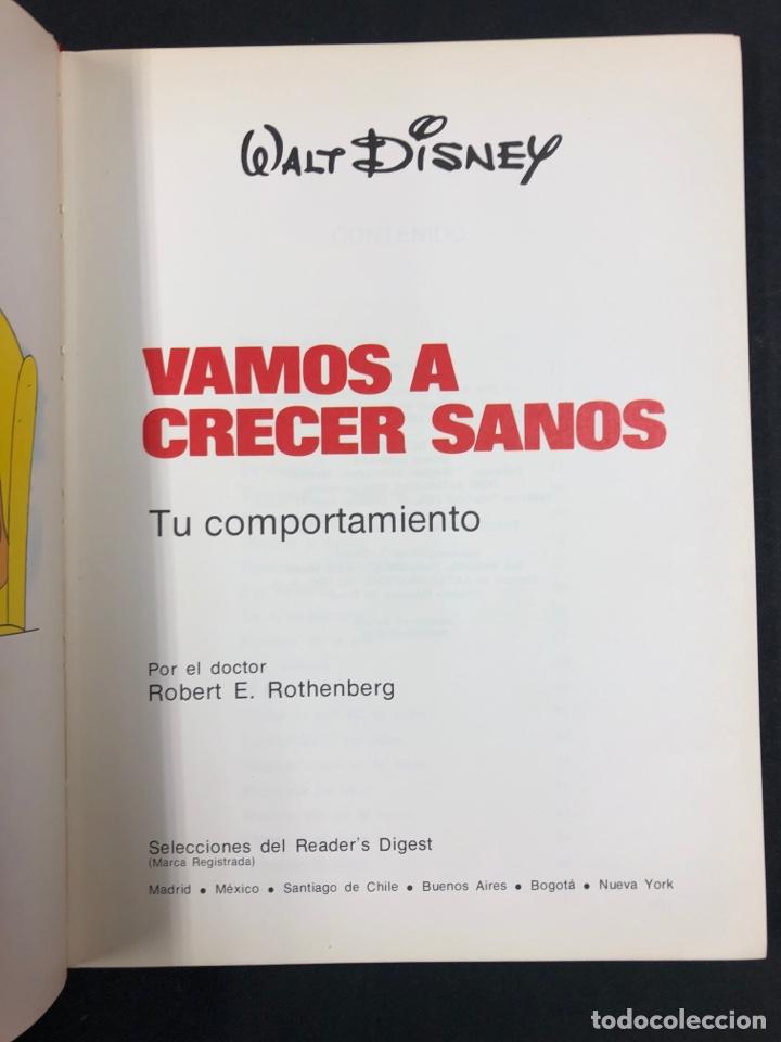 Libros de segunda mano: VAMOS A CRECER SANOS 2 - TU COMPORTAMIENTO - WALT DISNEY Y READERS DIGEST 1978 - Foto 2 - 194875715
