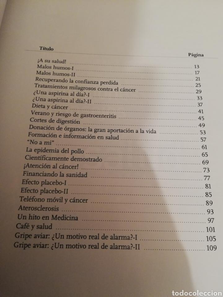 Libros de segunda mano: REFLEXIONES Y CONSEJOS SOBRE SU SALUD (J. ENRIQUE DOMÍNGUEZ MUÑOZ) - Foto 3 - 194894042
