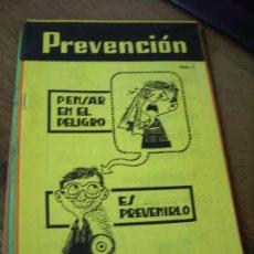 Libros de segunda mano: REVISTA PREVENCIÓN Nº 7. L.9601-170. Lote 194930530