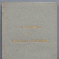 Libros de segunda mano: LOS NITROFURANOS. INTRODUCCION A LOS NITROFURANOS. Lote 195045376
