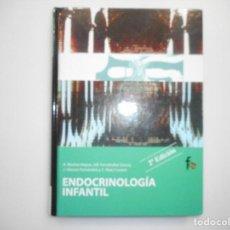 Libros de segunda mano: VV.AA ENDOCRINOLOGÍA INFANTIL ( VOL. 4) Y98941T. Lote 195091738