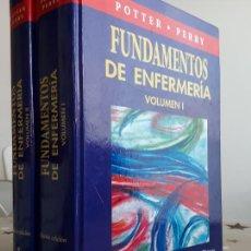 Libros de segunda mano: FUNDAMENTOS DE ENFERMERIA POTTER PERRY. Lote 195134507