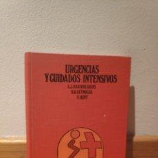 Libros de segunda mano: URGENCIAS Y CUIDADOS INTENSIVOS. Lote 195151065