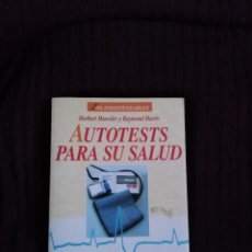 Libros de segunda mano: AUTOTESTS PARA SU SALUD . Lote 195228782