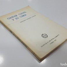 Libros de segunda mano: GASPAR CASAL Y SU OBRA POR GREGORIO SÁNCHEZ DONCEL (INSTITUTO DE ESTUDIOS ASTURIANOS). Lote 195239017