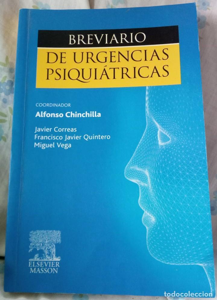 BREVIARIO DE URGENCIAS PSIQUIÁTRICAS, V.V.A.A., EDITORIAL ELSEVIER MASSON (Libros de Segunda Mano - Ciencias, Manuales y Oficios - Medicina, Farmacia y Salud)