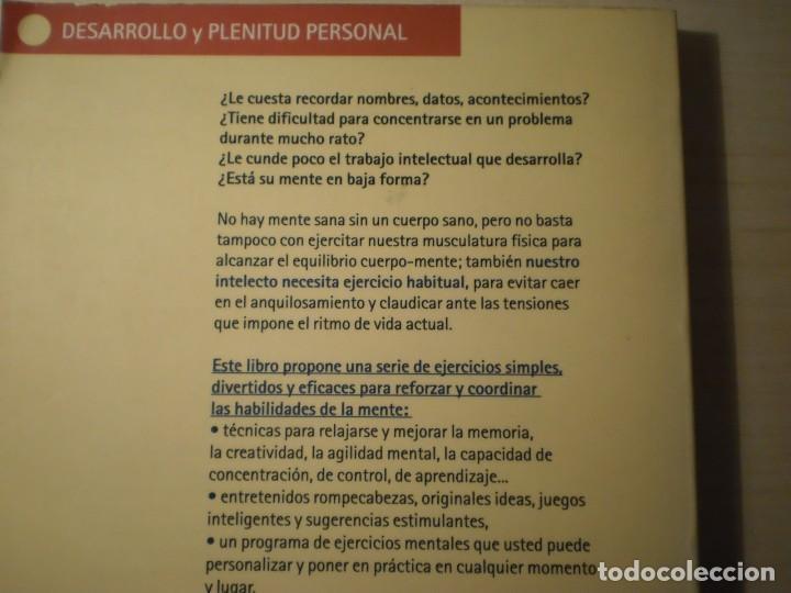 Libros de segunda mano: Gimnasia para la mente (Rodolfo Roman - Guillermo López) (1996) - Foto 2 - 195283716