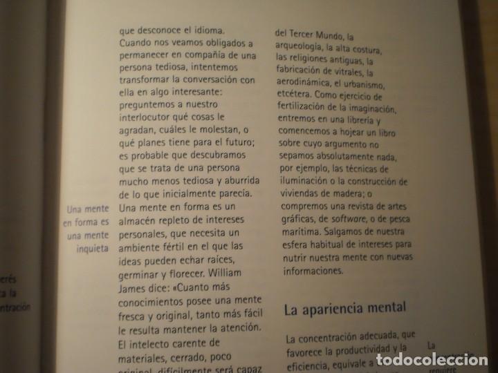Libros de segunda mano: Gimnasia para la mente (Rodolfo Roman - Guillermo López) (1996) - Foto 5 - 195283716
