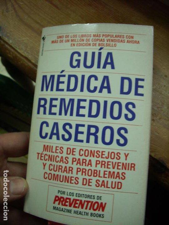 GUÍA MÉDICA DE REMEDIOS CASEROS. L.36-27 (Libros de Segunda Mano - Ciencias, Manuales y Oficios - Medicina, Farmacia y Salud)