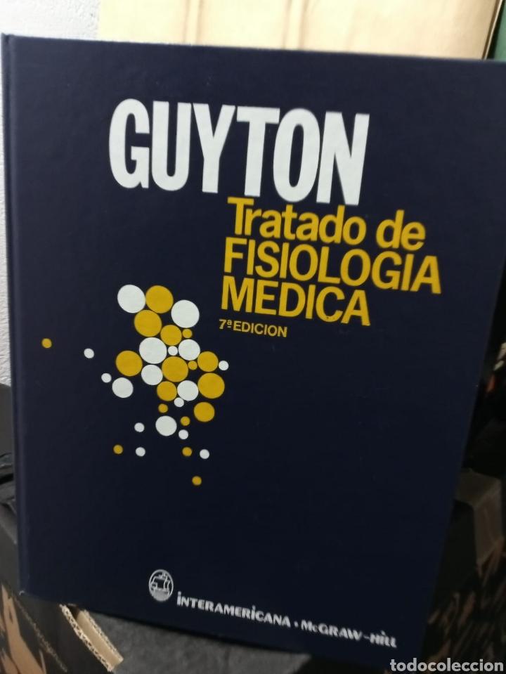 GUYTON TRATADO FISIOLOGÍA MÉDICA (Libros de Segunda Mano - Ciencias, Manuales y Oficios - Medicina, Farmacia y Salud)
