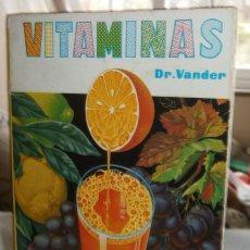 Libros de segunda mano: VITAMINAS DR. VANDER LA SALUD POR LA ALIMENTACION. Lote 195436060