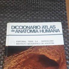 Libros de segunda mano: DICCIONARIO ATLAS DE ANATOMÍA HUMANA. Lote 195436855