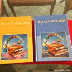 Libros de segunda mano: LOS DOS TOMOS DE AYURVEDA, DE VASANT LAD, M.A.SC, ENCUADERNADOS EN PASTA DURA, VER LOS DOS ÍNDICES.. Lote 195493130
