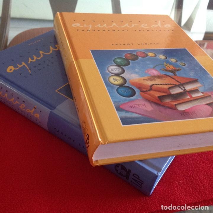 Libros de segunda mano: Los dos tomos de Ayurveda, de Vasant Lad, M.A.Sc, encuadernados en pasta dura, ver los dos índices. - Foto 2 - 195493130