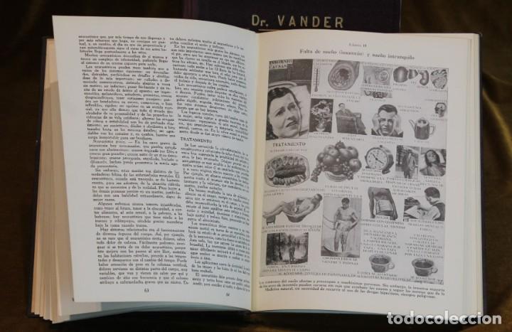 Libros de segunda mano: Moderna medicina natural,1952,doctor Vander,3 tomos - Foto 6 - 195504726