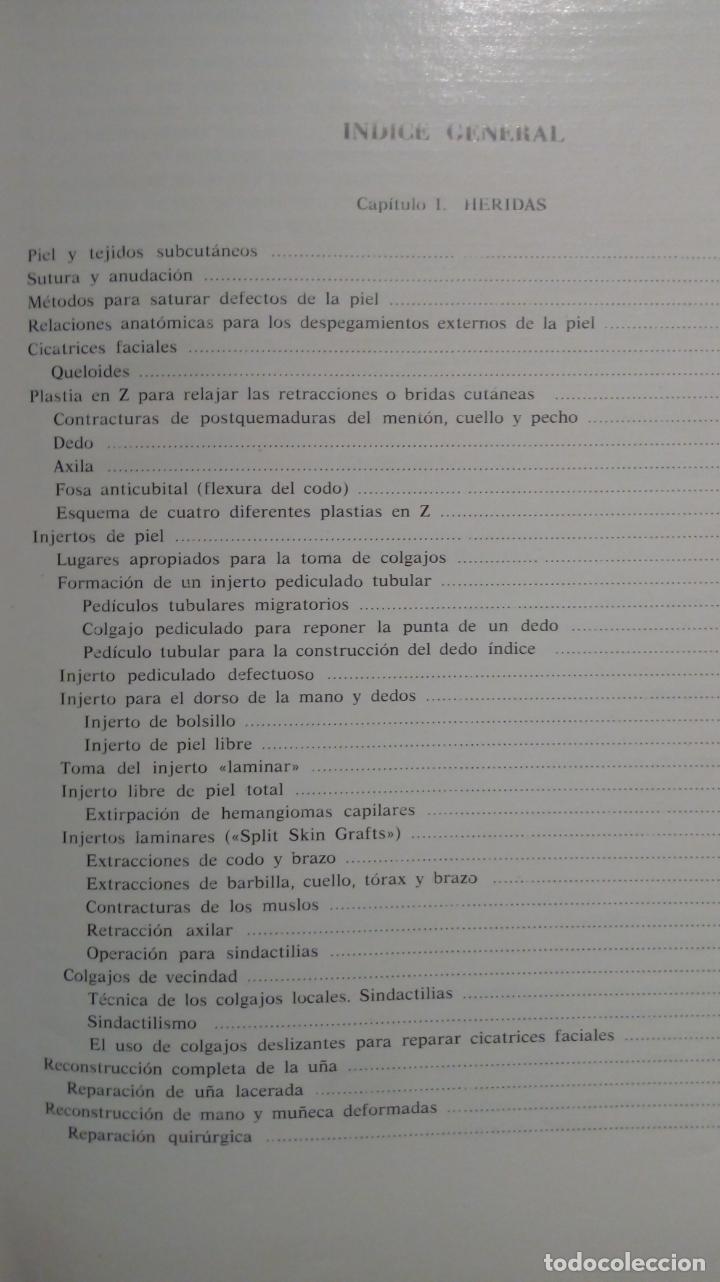 Libros de segunda mano: ATLAS DE CIRUGÍA PLÁSTICA. Morton Irwin Berson. ( Médicina estética ) - Foto 3 - 195507381