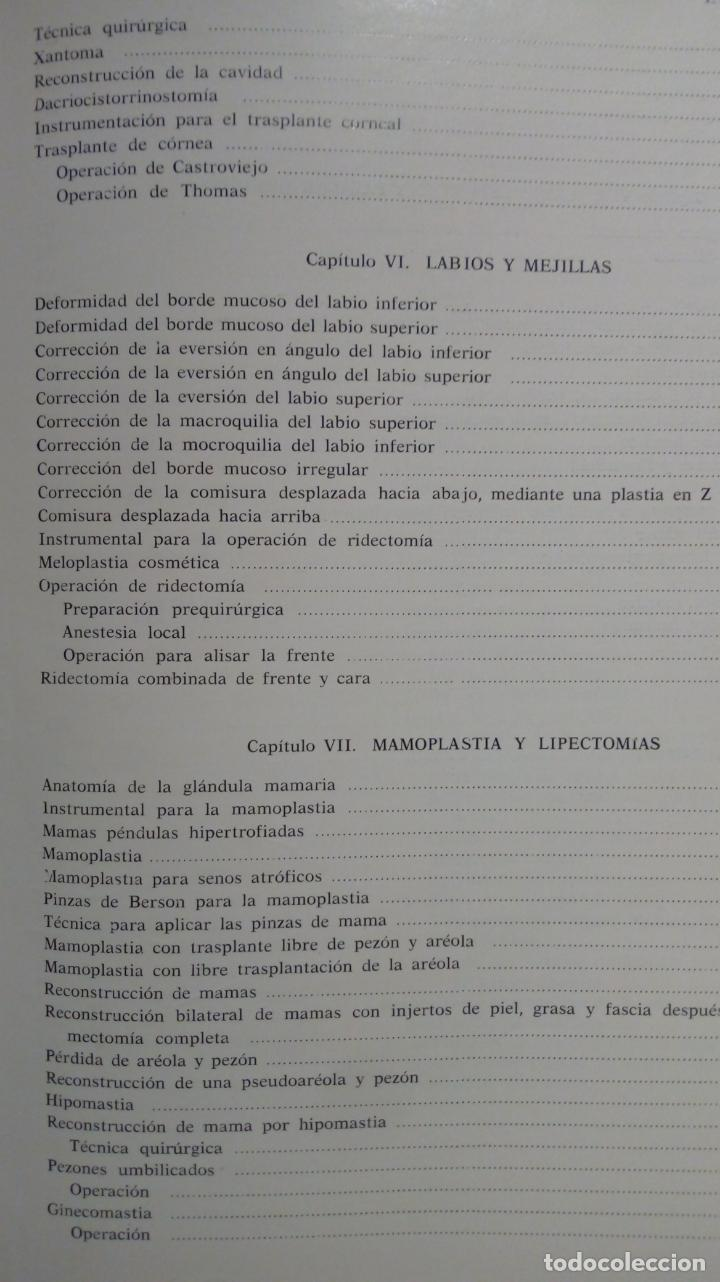 Libros de segunda mano: ATLAS DE CIRUGÍA PLÁSTICA. Morton Irwin Berson. ( Médicina estética ) - Foto 4 - 195507381