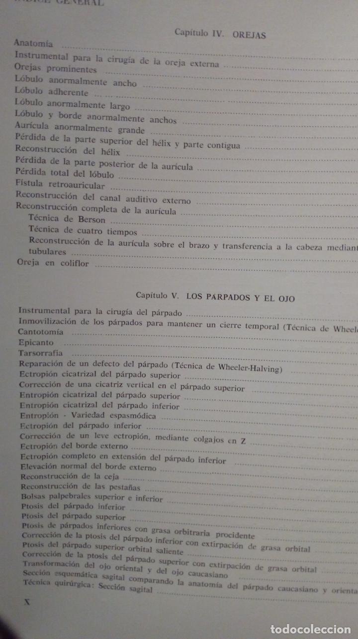 Libros de segunda mano: ATLAS DE CIRUGÍA PLÁSTICA. Morton Irwin Berson. ( Médicina estética ) - Foto 7 - 195507381
