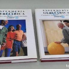 Libros de segunda mano: ENFERMERÍA GERIÁTRICA - QUINTANILLA A - MONSA 2 TOMOS - CUIDADOS INTEGRALES ANCIANO. Lote 195525575