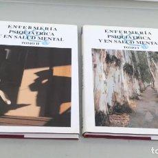 Libros de segunda mano: ENFERMERÍA PSIQUIÁTRICA Y EN SALUD MENTAL - MONSA 2 TOMOS -Mª DOLORES BERNABEU TAMAYO. Lote 195525623